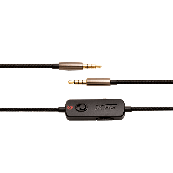 3.5mm AUDIO CABLE W/ ANALOG CONTROLLER